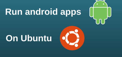 run android apps on Ubuntu