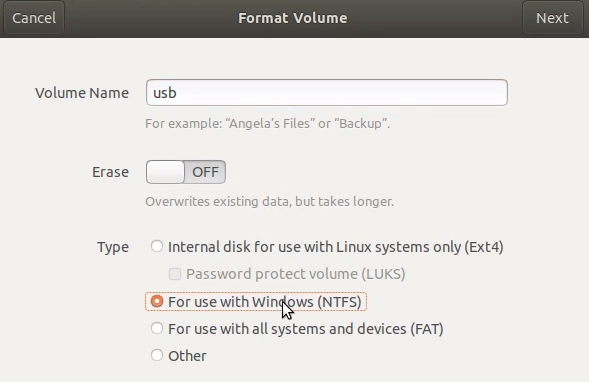 create windows 10 usb from linux