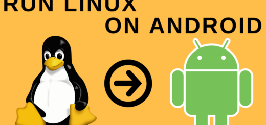 run linux on android