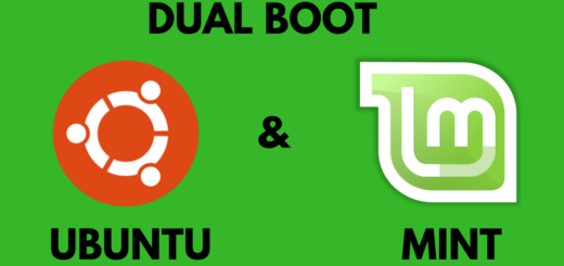dual boot linux mint and ubuntu