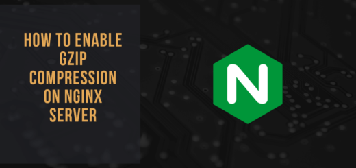 enable gzip compression on nginx server on nginx